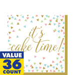 Servilletas-para-Lunch-It-s-Cake-Time-Colores-Pastel-16-piezas