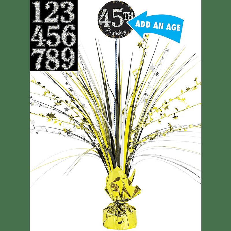 Centro-de-Mesa-Spray-Cumpleaños-Dorado
