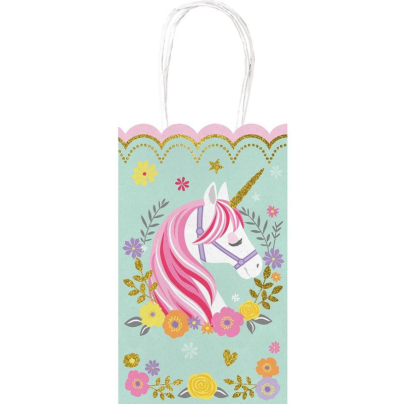 Bolsas-de-Papel-Kraft-Unicornio-Magico