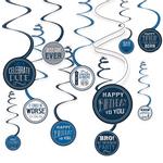 Decoraciones-Colgantes-en-Espiral-Cumpleaños-Azul-Marino