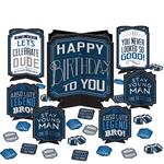 Centro-de-Mesa-para-Cumpleaños-Azul-Marino