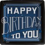 Platos-Cuadrados-Happy-Birthday-Azul-Marino-8-piezas