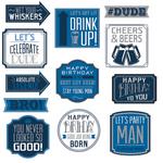 Figuras-Recortables-Feliz-Cumpleaños-Azul-Marino
