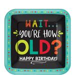 Platos-Cuadrados-de-Papel-Cumpleaños-Multicolor-8-piezas