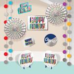 Kit-de-Decoracion-para-Habitacion-Cumpleaños-Metalico