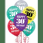Globos-de-Latex-Surtidos-Cumpleaños-30-15-piezas