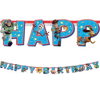 Kit Banner Happy Birthday Toy Story 4