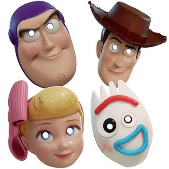 Máscaras Toy Story 4
