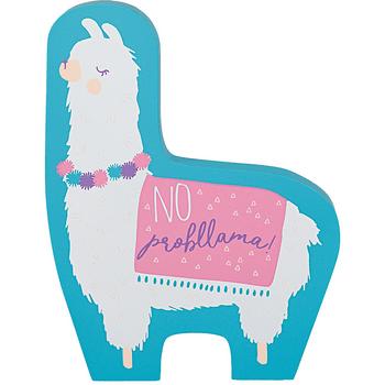 Mini Letrero Llama