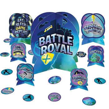 Kit de Decoración para Mesa Battle Royal, 27 piezas