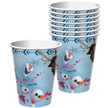 Vasos de Papel Frozen 2, 8 piezas