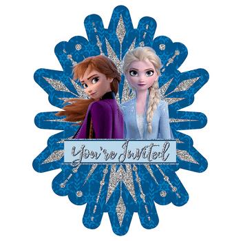 Invitaciones Frozen 2, 8 piezas