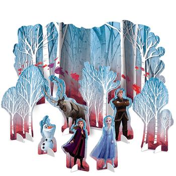 Kit de Decoración para Mesa Frozen 2, 9 piezas