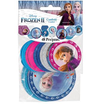 Confeti de Frozen 2, 48 piezas