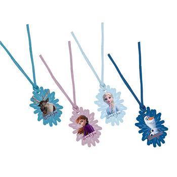 Etiquetas Frozen 2, 8 piezas