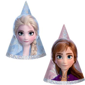 Gorritos de Fiesta Frozen 2, 8 piezas
