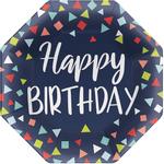 Platos-de-Papel-Octagonal-Happy-Birthday-8-piezas