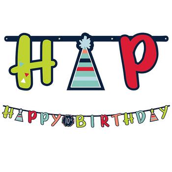 Kit Banner de Cumpleaños Personalizable