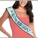 Banda-para-Cumpleaños-It-s-my-Birthday-Azul