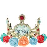 Tiara-Luminosa-con-Flores-Cumpleaños