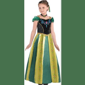 Disfraz de Anna Coronación para Niña - Frozen