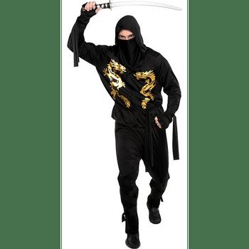 Disfraz de Ninja Dragón Negro para Hombre