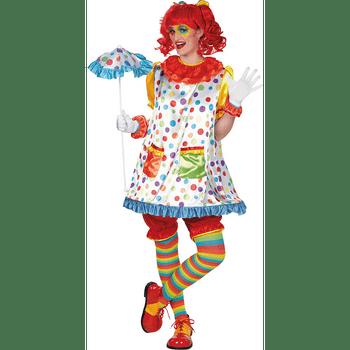 Disfraz de Chica Payaso para Mujer