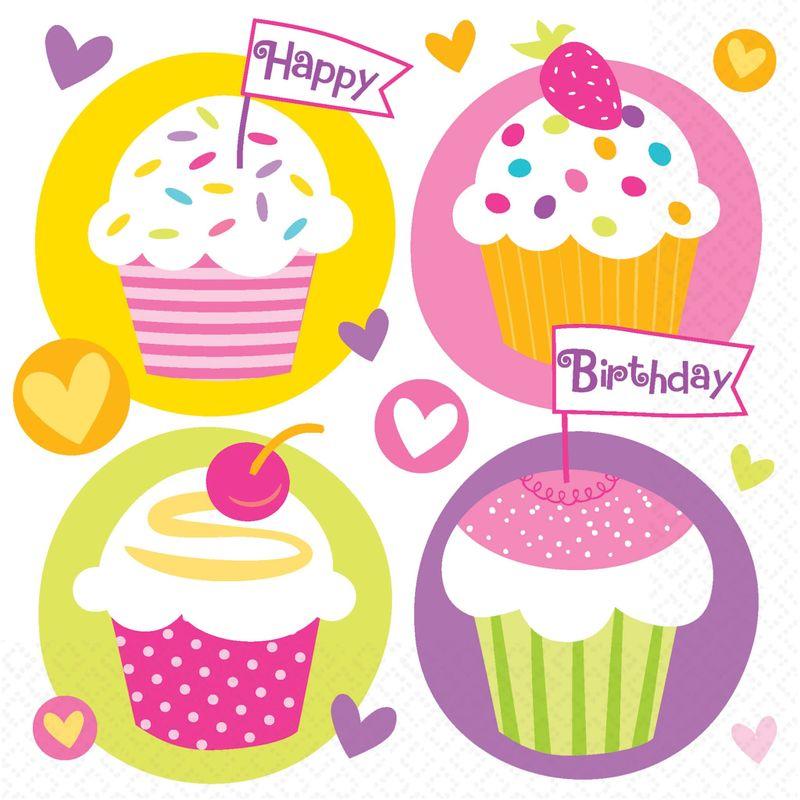 Servilletas-para-Lunch-Cumpleaños-Cupcakes-16-piezas
