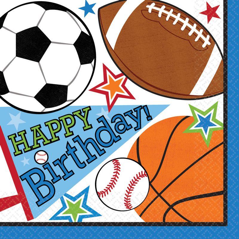 Servilletas-para-Lunch-Cumpleaños-Deportes-16-piezas