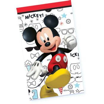Libreta Mickey Mouse