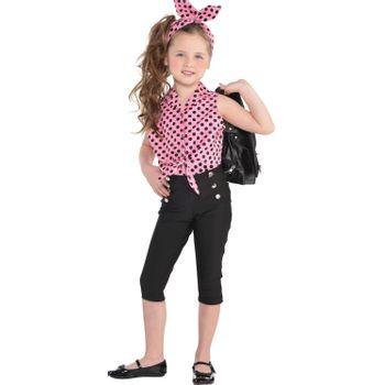 Disfraz de Chica Vaselina para Niña