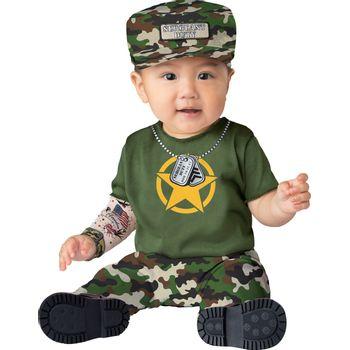 Disfraz Bebé Militar