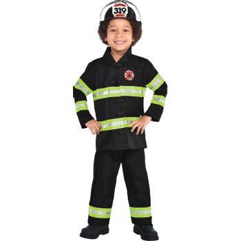 Disfraz de Bombero Brillante para Niños