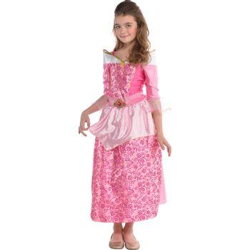 Disfraz de Aurora para Niña - La Bella Durmiente