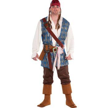 Disfraz de Jack Sparrow - Piratas del Caribe para Hombre
