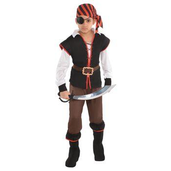 Disfraz de Pirata Rebelde del Mar para Niño