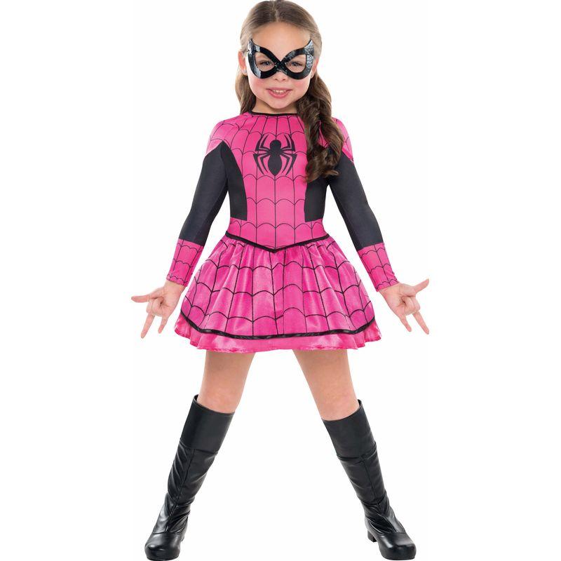 Disfraz-Spidergirl-Rosa