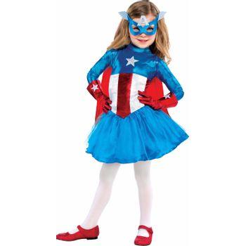 Disfraz American Dream para Niña