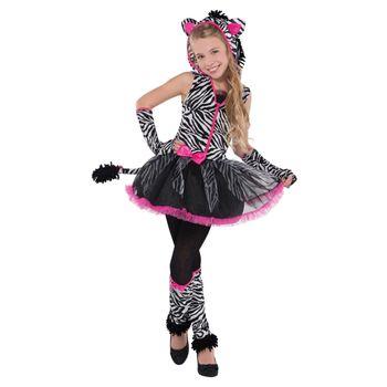 Disfraz de Cebra para Niña