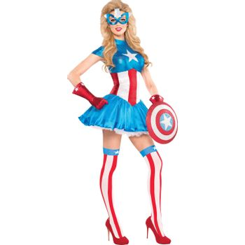 Disfraz American Dream para Mujer