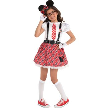 Disfraz Minnie Mouse Nerd