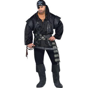 Disfraz de Pirata Oscuro para Hombre