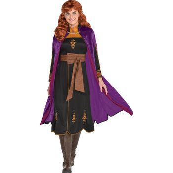 Disfraz de Anna Negro para Mujer - Frozen 2