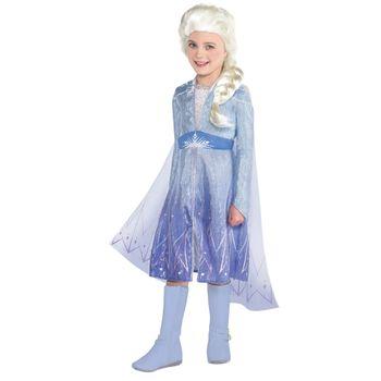 Disfraz de Elsa Azul para Niña - Frozen 2