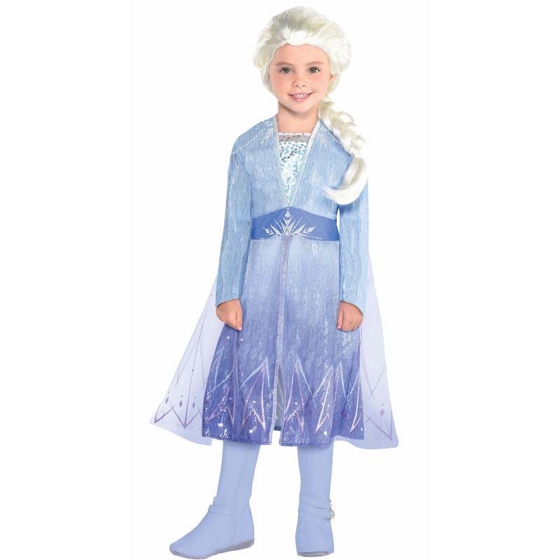 Disfraz Elsa Vestido Azul - Frozen 2