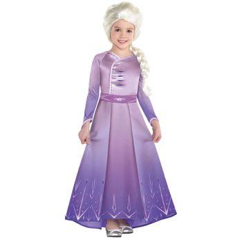 Disfraz de Elsa Lila para Niña - Frozen 2