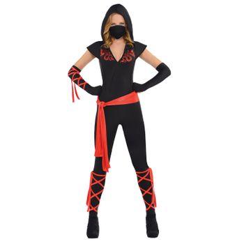 Disfraz de Ninja Dragón para Mujer