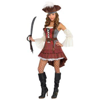 Disfraz de Pirata de Alta Mar para Mujer