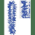 Collar-De-Flores-Oropel-Azul
