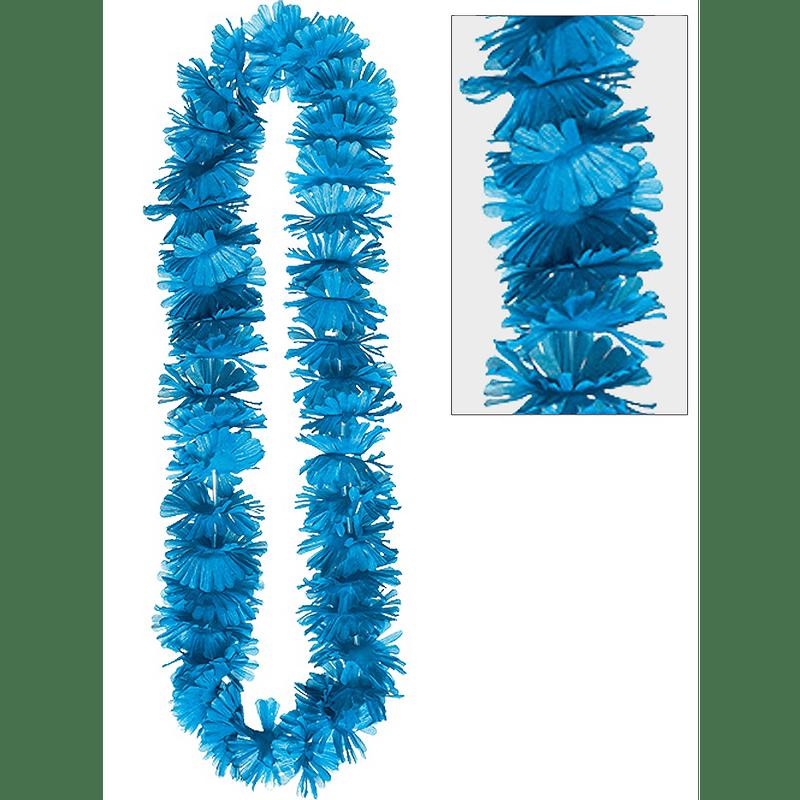 Collar-De-Flores-Verano-Azul